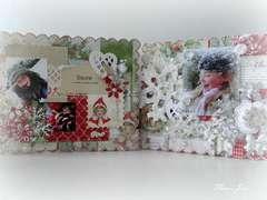 Merry Christmas album, for Melissa Frances