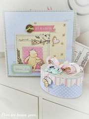 Gift set Winnie the Pooh (album and treasure box)