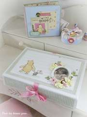 Gift set Winnie the Pooh (album and boxes)