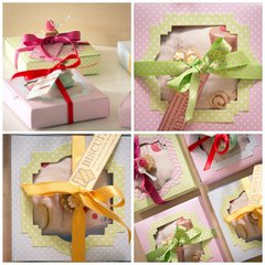 Boxes of Lavender scented sachets