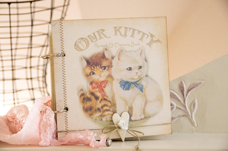 Kitty book, for Melissa Frances