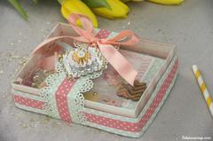 Gift set,card and pocket mirror by Fabinou