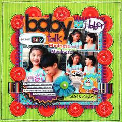 Baby Talk:  Bo Bunny Whooligans