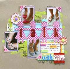 Feet Talk:  Bella Blvd Flirty Collection