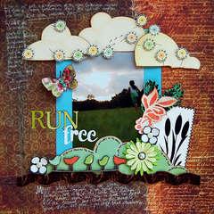 Run Free:  Cocoa Daisy November Kit
