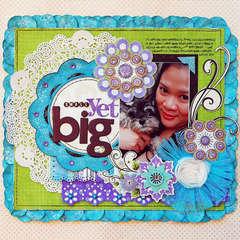 Small Yet Big:  **Bo Bunny Winter Joy**