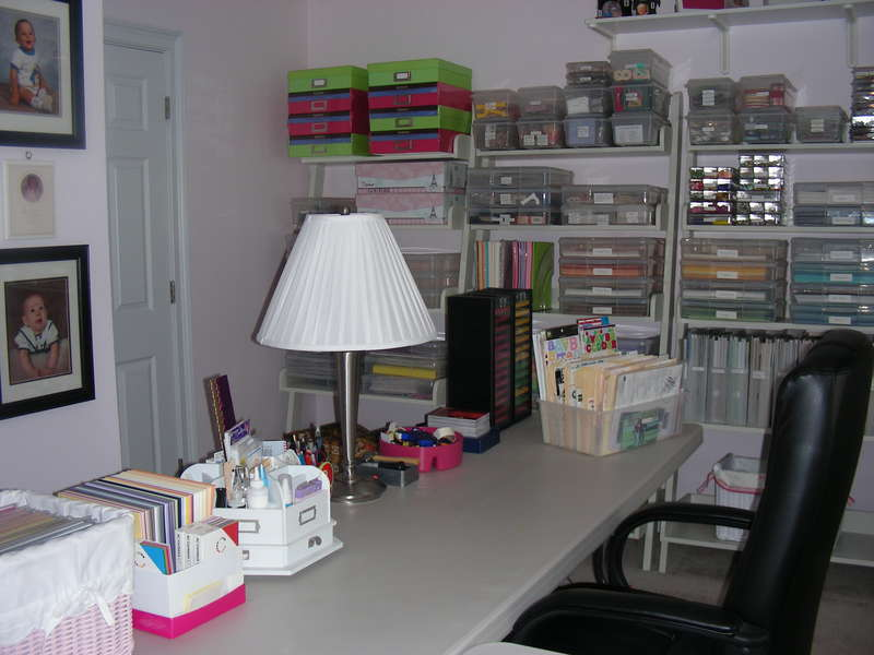 One of my 3 workspaces!