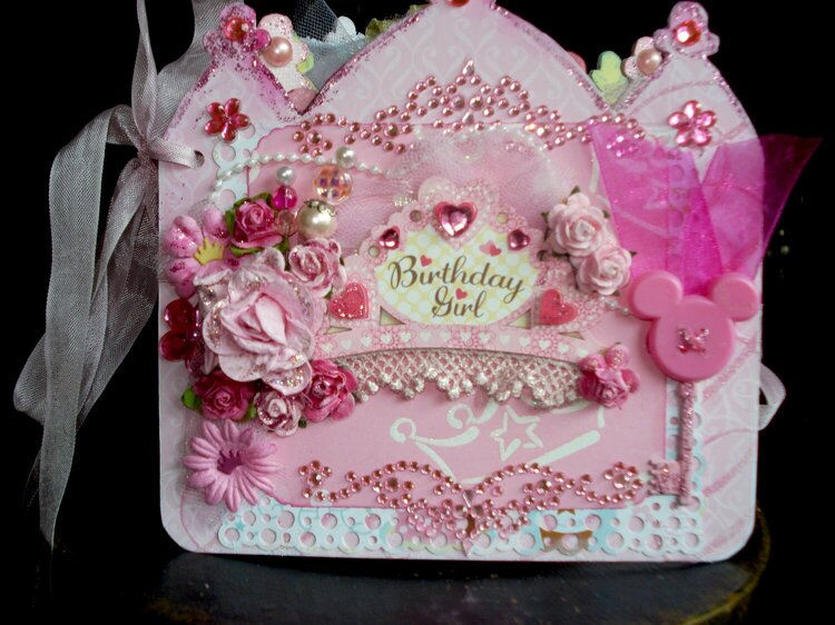 Disney Princess Birthday album