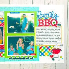 Famly BBQ- Doodlebug Bar-B-Cute