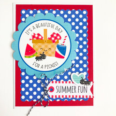 Bar-B-Cute Cards- Doodlebug Design