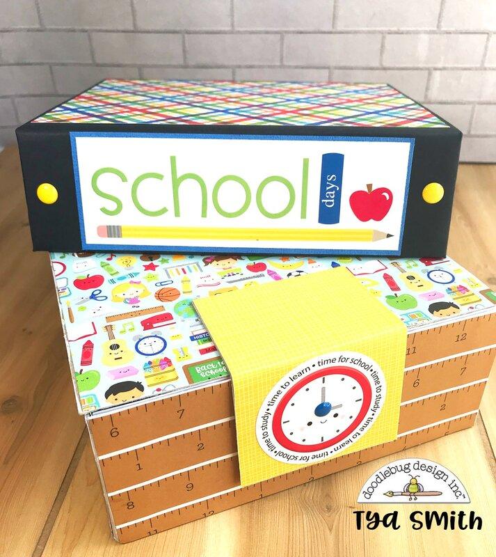 Doodlebug School Days Mini Album
