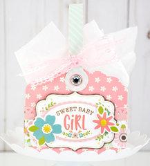 Sweet Baby Girl Gift Basket