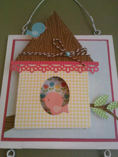 Welcome Spring Wall Hanging