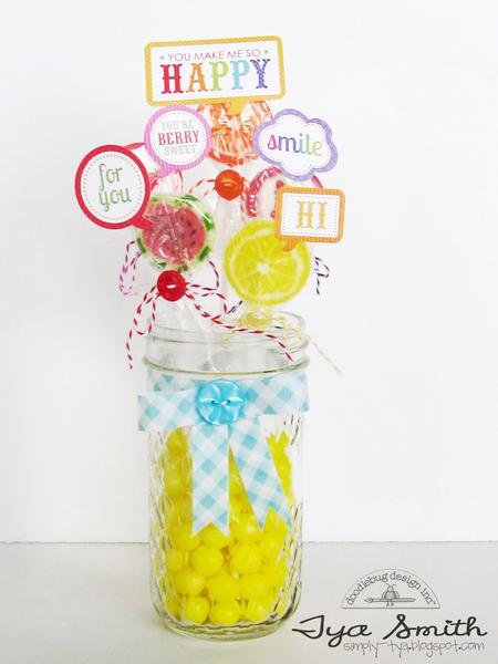 Doodlebug Designs Fruit Stand Treat Holder