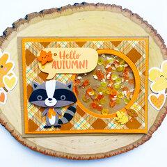 Pumpkin Spice Shaker Card