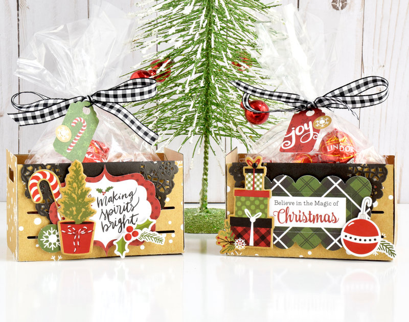 Celebrate Christmas Treat Crates