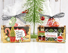 Celebrate Christmas Treat Crates