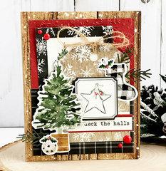Carta Bella Deck the Halls Card