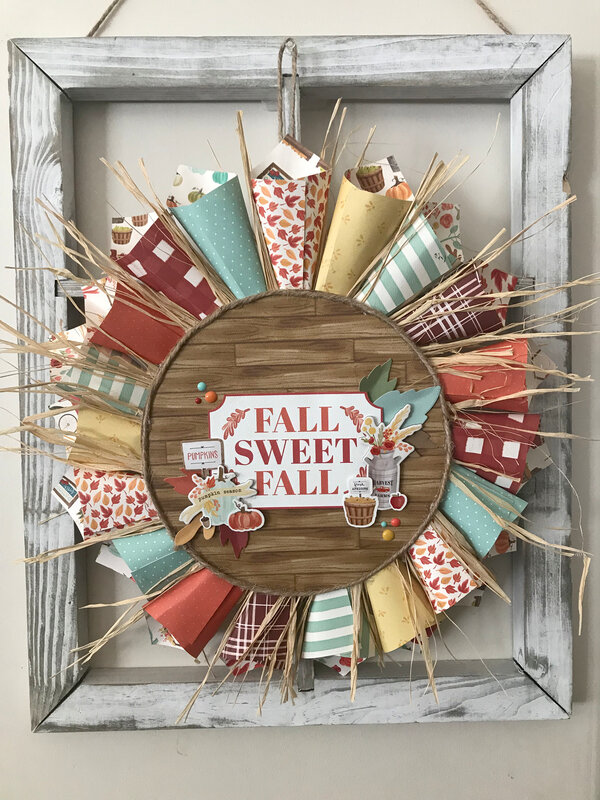 Fall Sweet Fall Autumn Wreath