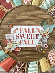 Fall Sweet Fall Autumn Wreath