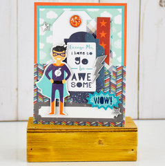 Be Awesome Card - Echo Park Imagine That Boy