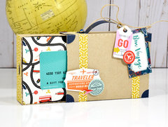 Echo Park Pack Your Bags Gift Card Box
