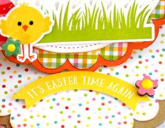 Echo Park Celebrate Easter Easel Card