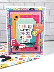 Best Days Card - Echo Park Teen Spirit Card