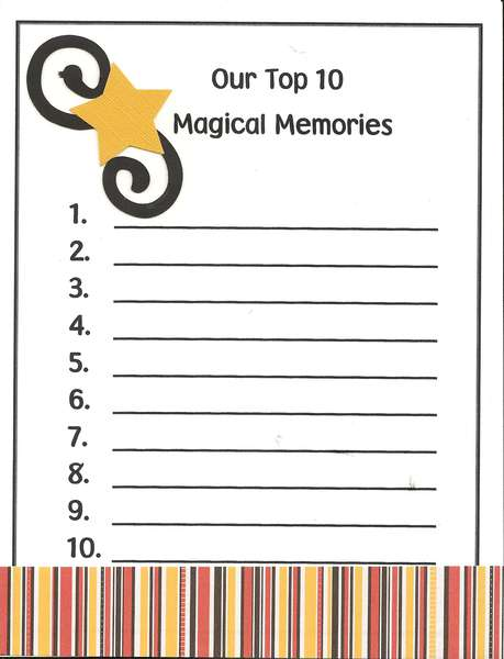 Disney favorite Memories pg 2