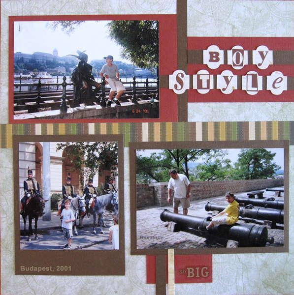 Visiting Europe Boy Style - Budapest 2001