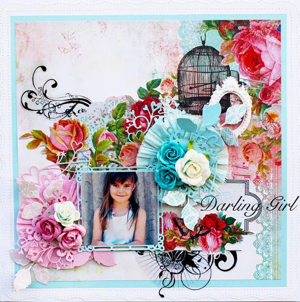 Darling Girl - My Creative Scrapbook March Kit