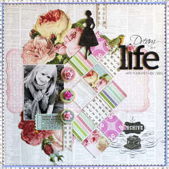 Dream your Life **Pink Paislee**