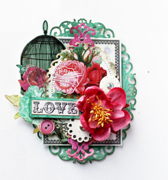 """ Love Tag"" My Creative Scrapbook GD"