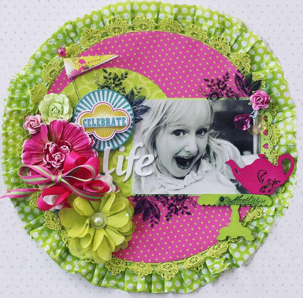 Celebrate Life **Pink Paislee GDT**