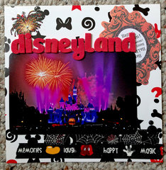 Disneyland mini - first page