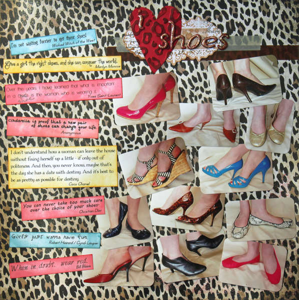 Fashion Challenge:  I Heart Shoes