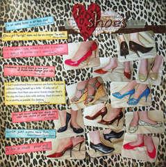 Fashion Challenge:  I Heart Shoes