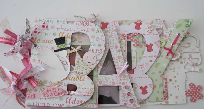 Baby Girl wordbook cover