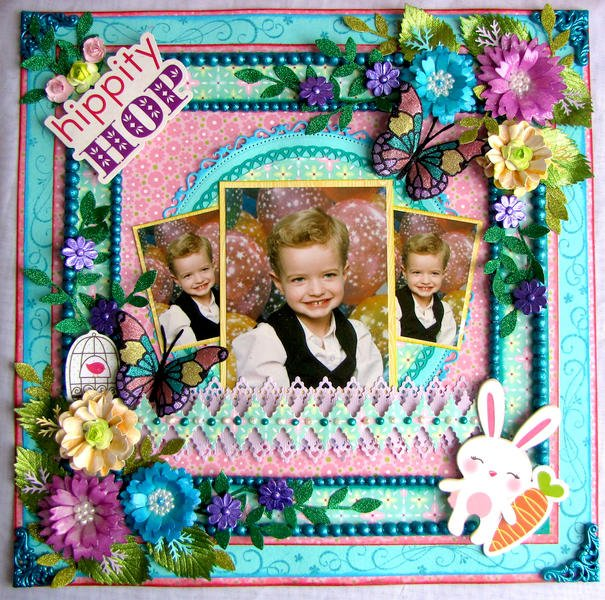 Hippity Hop Designed for Scrapbook Memories And More