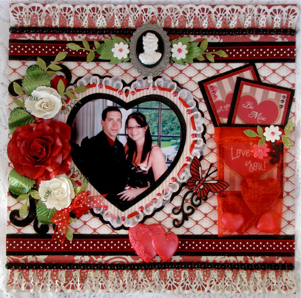 "Will You Be Mine?  *Scrapbook Memories and More DT"" featuring MY MINDS EYE"