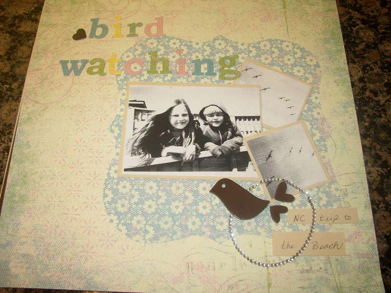 Bird Watching {SFAC #4 sketch challenge}