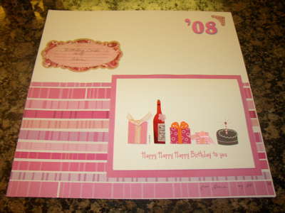 Birthday Card Layout {If It's Groovy Blog Hop by Theresa}