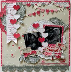 I Love You K&B**SCRAPS OF ELEGANCE FEB. KIT LOVESONG