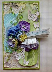 Be Inspiring- SCRAPS OF ELEGANCE APRIL KIT