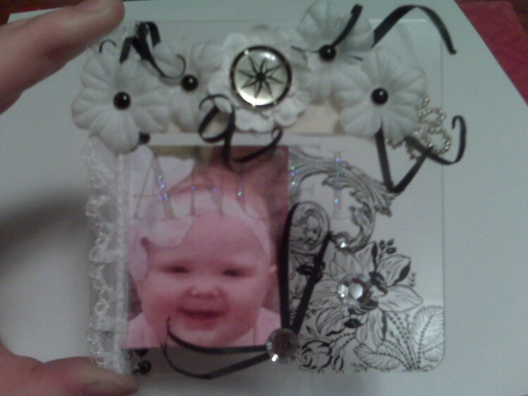 Mother's Day Clear Scraps project