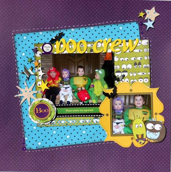 Boo Crew *Scrap Attack Scrapbooking DT Kit*