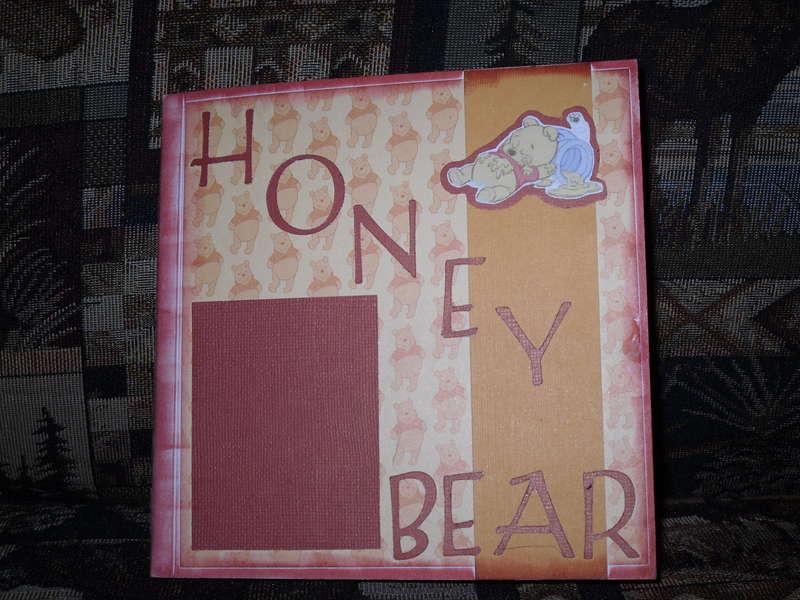 Honey Bear Album Cover