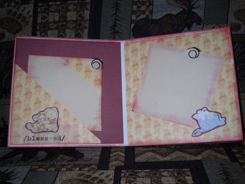 Honey Bear Album Pages 4 & 5
