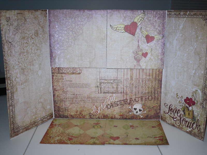 Love Struck book partially open