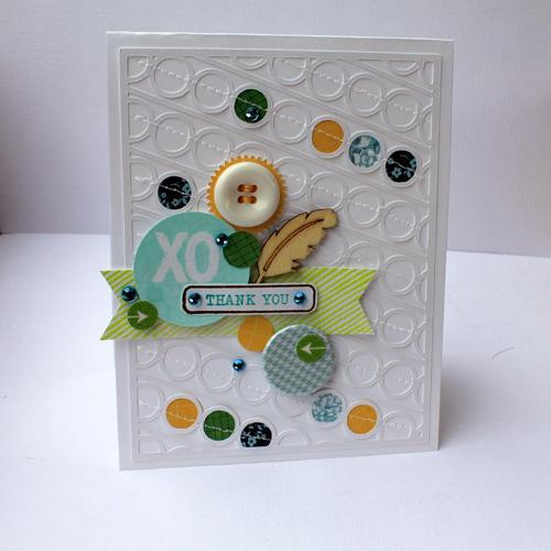 XO Thank you *Studio Calico Card Kit*
